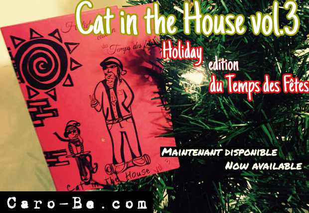 Cat in the house - Fanzine - Caro Bé